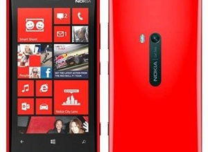 Nokia Lumia 920 in RED! So pretty, so powerful!